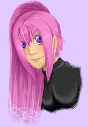 Pink Hair test by EvilHateYouAll