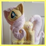 mlp plushie commission FLUTTERSHY