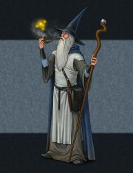 Old Wizard by quellion