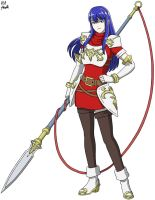 Caeda: Talys's Heart by VGAfanatic