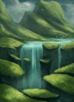 ~ waterfall ~ by ChristianGerth