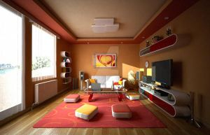 warm colored room by 4Dragon84