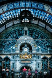 Antwerp Central Station by imladris517