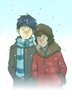 Cozy with you by AbnormallyNice