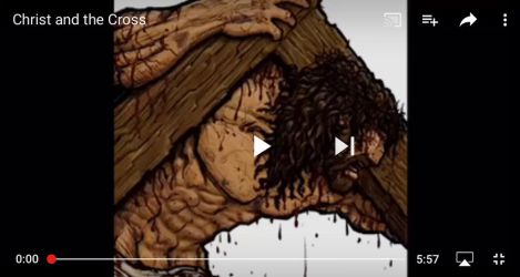 Time Lapse Video: Christ and the Cross by eikonik