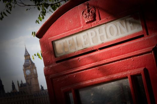 South Bank Telephone Box by RichieSmith27