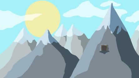 Mountain Background by Crispface