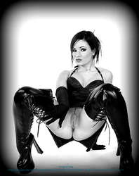 Boots and Gloves by MistressMinnX