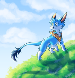 Climbing The Hill by Keapoki