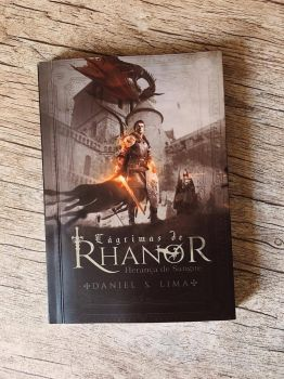 Book cover - Lagrimas de Rhanor printed by MirellaSantana