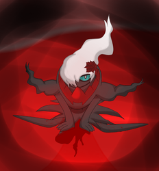 Darkrai blood monthly illness by DarkraiButler