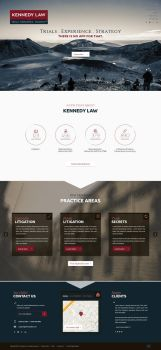 Web Page Design for a Law Firm by bojok-mlsjr