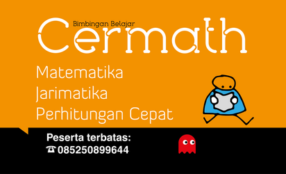 Cermath Poster Orange by searchcrawler