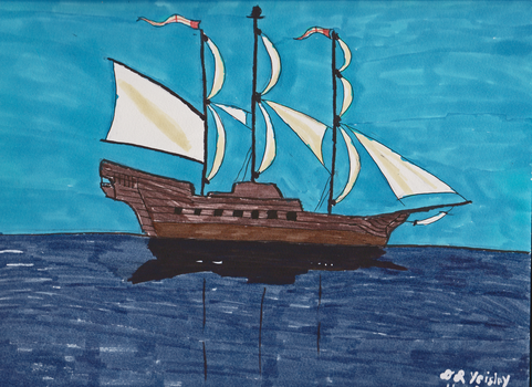 Sailing Ship by DRY-Designs