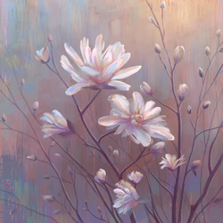 Pearly Flowers by Blunell