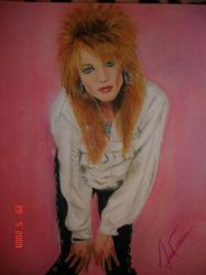 Michael Monroe by AriadnaFdez