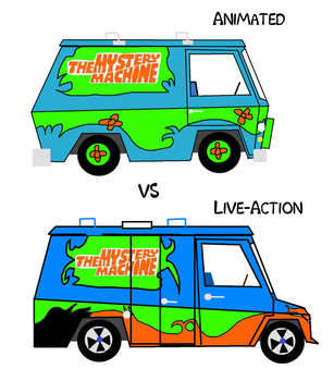 The Mystery Machine from Scooby-Doo by Laseralphacanine
