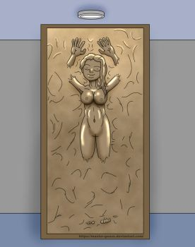 Hannah in Carbonite by Master-Geass