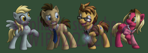 WIP--MLP: Doctor? Don't Mind Us (UPDATED) by LuLuLunaBuna