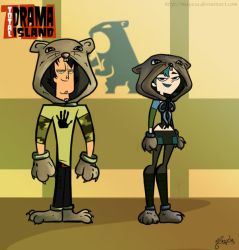 Two screaming Gophers by Maye1a