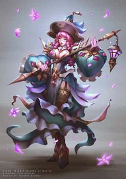 Flower Wizard by r-chie