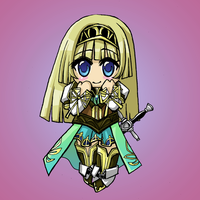 VP2 Alicia Chibi by glance-reviver