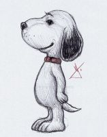 Snoopy sketch by RodWolf