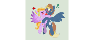 Jupiter and Cosmic~ by MadWhovianWithABox
