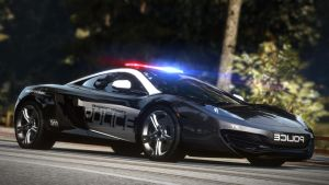 NFS: HP Mclaren Mp4-12C police by Bacurok