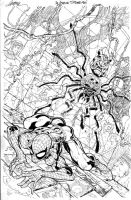 Spider-Man cover 5 by TimTownsend