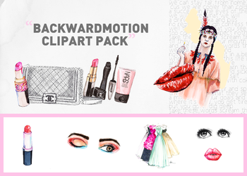 Clipart PNG. pack 003 by Backwardmotion by meghjade