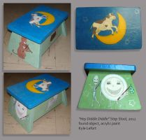 Hey Diddle Diddle Stepping Stool - 2012 by Kyle-Lefort