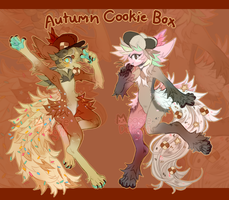 Autumn Cookie Box {CLOSED} by MoggieDelight
