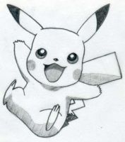 Happy Pikachu is Happy by lauralou206