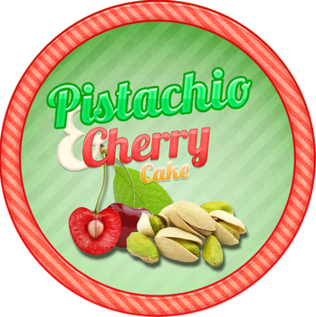 Pistachio Cherry Cake by Echilon