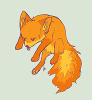 Firefox sketch by DenimBirdie