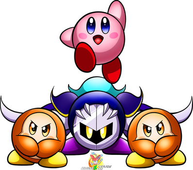 The Kirby Squad by Stacona