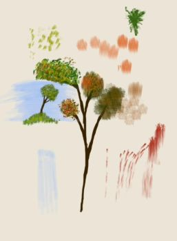 Tree and brush settings study by robbjosf