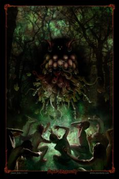 Shub-Niggurath by jasonjuta