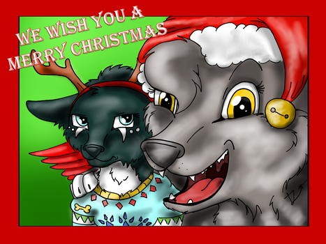 Merry Christmas by Redwingsparrow