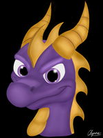 Spyro the Gaming Dragon by CarameliaBriana