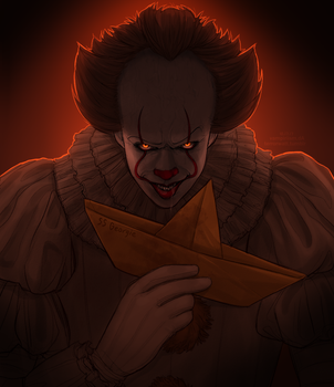 Pennywise by vampiriism