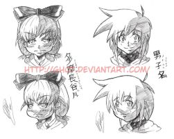 Concept Character Headshots_02 by GH07