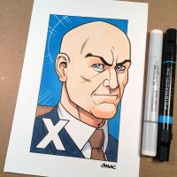 X is for Professor X by D-MAC