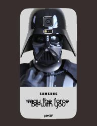 Samsung Galaxy S5 Darth Vader Back Cover by jawzf