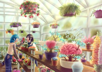 Greenhouse by Elle-Rei