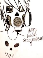 HAPPY BDAY GR33NB33NBUN by GumiChewz