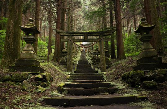 Kamishikimi Kumano Shrine, Takamori by Rollwurst