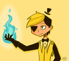 Bill Cipher by LN-Polar