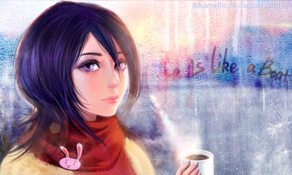 Rukia:Hello,winter by RikaMello